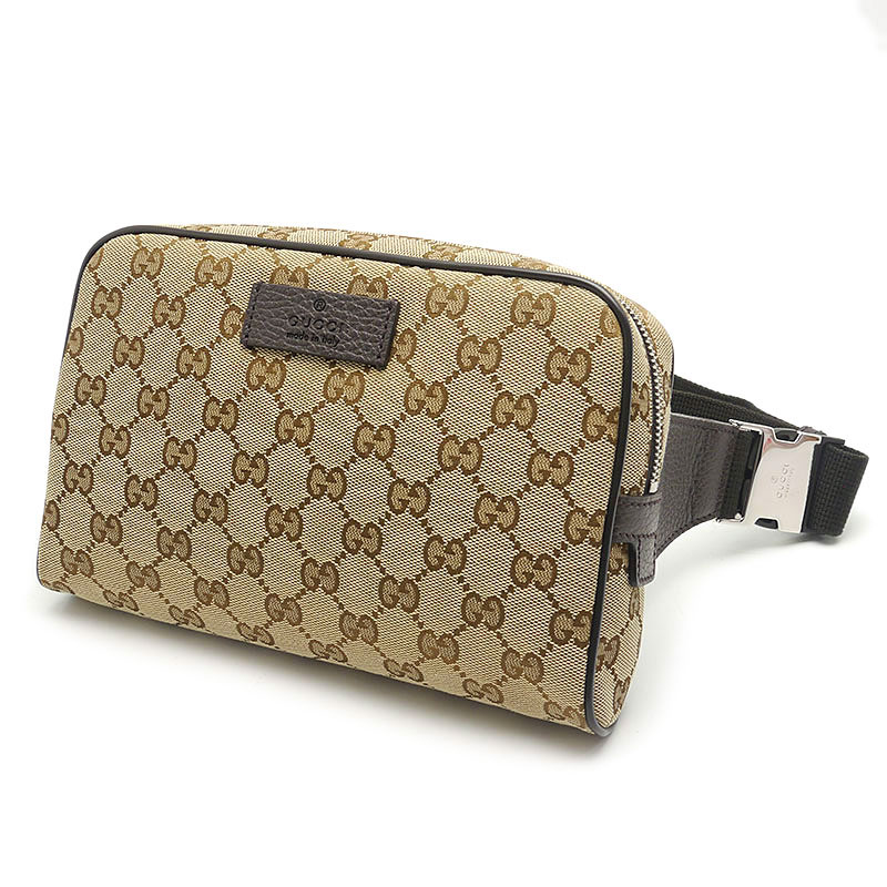 low priced 59d04 6f46c 新入荷】グッチ(GUCCI) GGキャンバス ボディバッグ 449174 ...